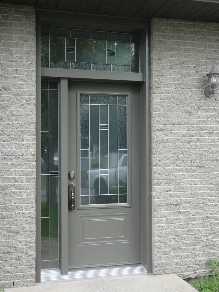 Les portes d 39 acier le gardeur vente installation de for Porte et fenetre caron et guay